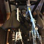 20寸的Folding bike晒货