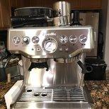 收到breville expresso BES870XL咖啡机啦
