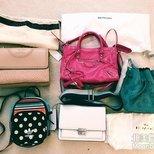 最近一个月买的包包