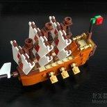 #经验#Lego瓶中船
