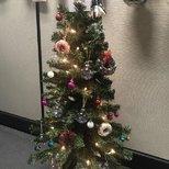 【圣诞树】不光是家里,办公室也要美美滴