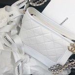 Chanel白色流浪包~