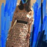 刷到了BG的self portrait花花裙,顺求sf 0/2码裙子