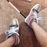 CL铆钉红底鞋
