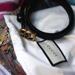 #经验#Gucci皮带搭配JBrand低中高腰Jeans的尺码体验