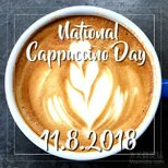 【今日晒货】11.8.2018 national Cappuccino day