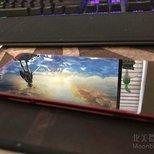 国内京东Dhl直邮过来的锤子手机 坚果pro2酒红色