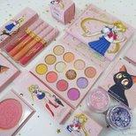Colourpop x Sailor Moon 美少女战士联名款试色测评