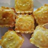 【美味moment】中秋节快乐--流心奶黄月饼