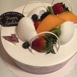 85度的生日蛋糕