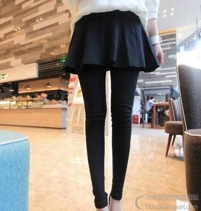 黑灰亮色裤长95腰围54有松紧.jpg