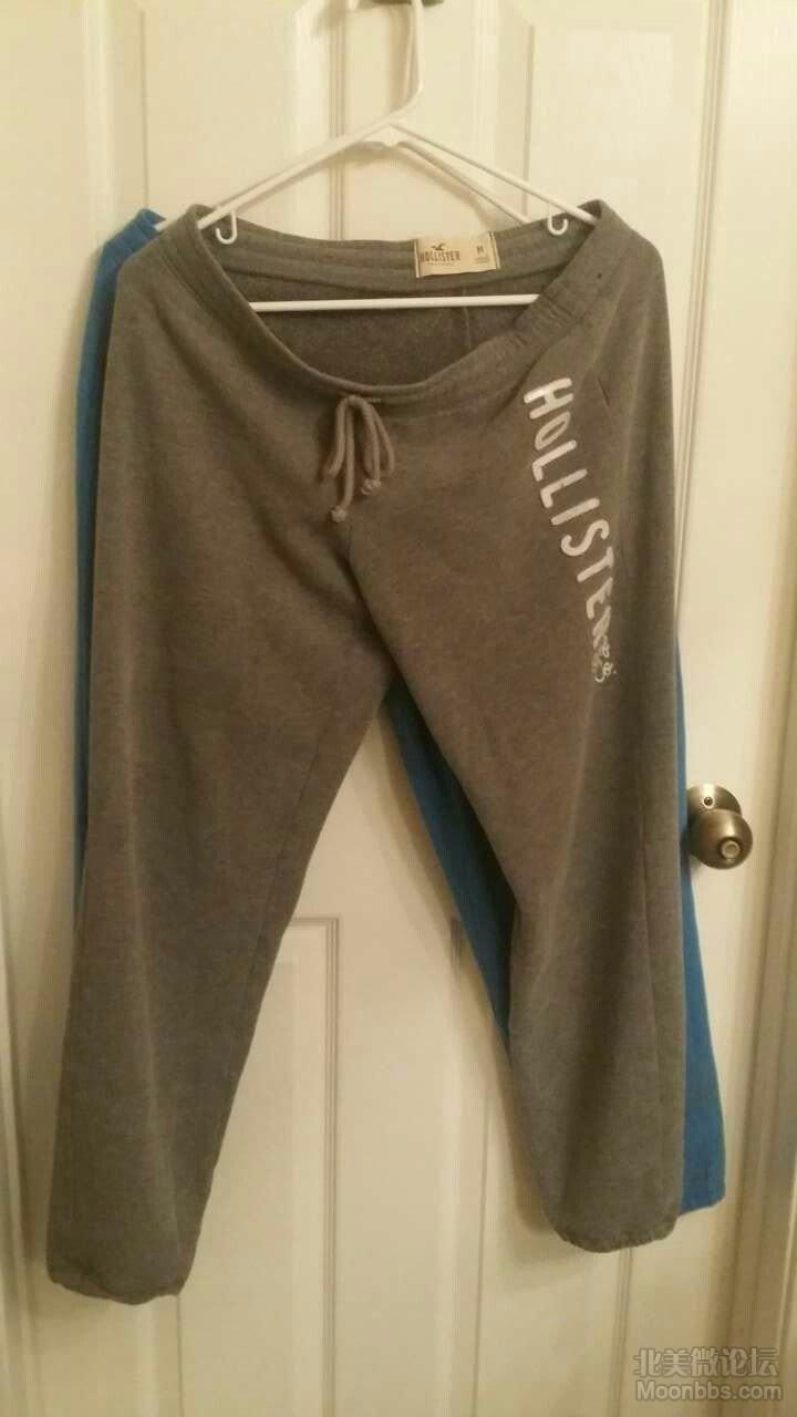 hollister 运动裤 M $11