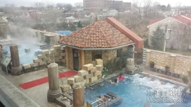 室外水疗游乐区