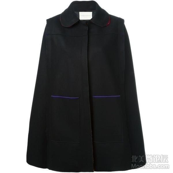 marco de vincenzo black cape cape long cape outerwear-f75248.jpg