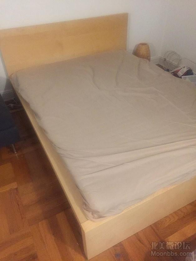 宜家床架与床垫