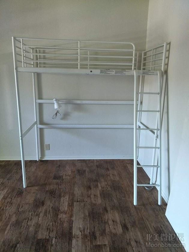 loft bed B型白色--安装后.jpg