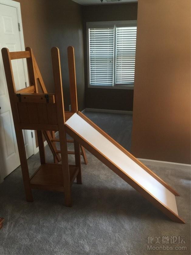 儿童滑楼梯