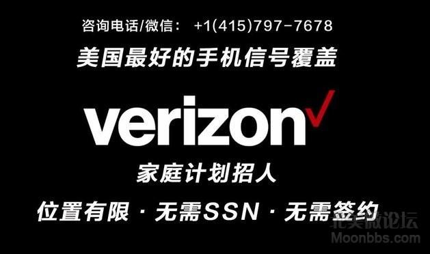 Verizon 家庭计划