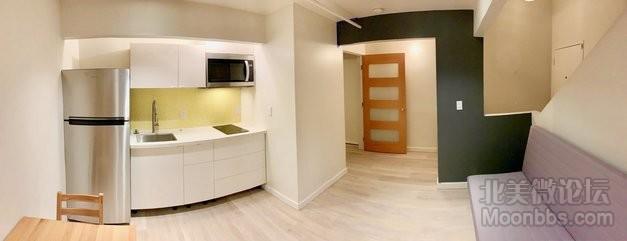 楼下厨房客厅