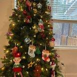 【我家圣诞树】孩子们在学校的手工