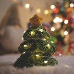 【我家圣诞树】DIY毛线圣诞树和粘土装饰