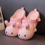 给女儿买的小兔纸拖鞋可爱到飞起,让她成为DC最闪亮的娃