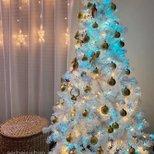 【我家圣诞树】白色的圣诞树