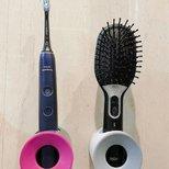 乍一眼看像戴森的电动牙刷架