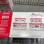 Hello Kitty 玻璃保鲜盒8件套
