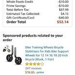 【晒单赢礼卡】Prime day买的儿童自行车到货