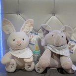 Gund 小象和小兔子