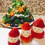 【我家圣诞树】健康好吃的圣诞树!